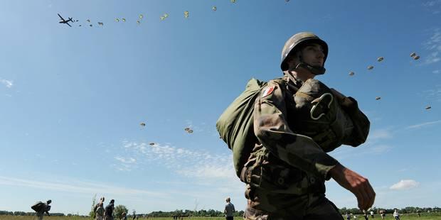 Normandie: 900 parachutistes sautent pour commémorer le Débarquement - La Libre