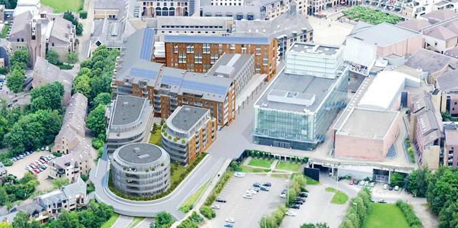 Une résidence de luxe en plein centre de Louvain-la-Neuve?