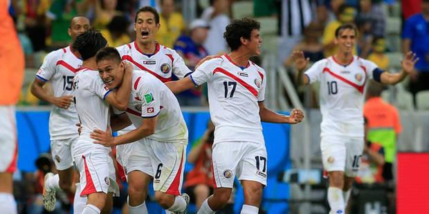 Le Costa Rica crée la sensation en battant l'Uruguay (1-3) - La Libre