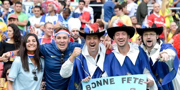 France-Honduras: quand l'hymne ne part pas... - La Libre