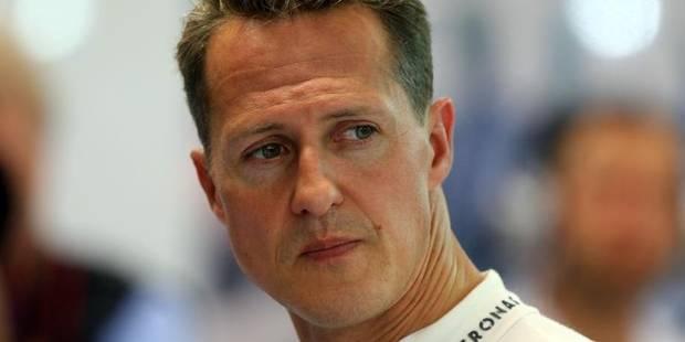 """Michael Schumacher : """"La phase de réadaptation est un long trajet parfois frustrant"""" - La Libre"""