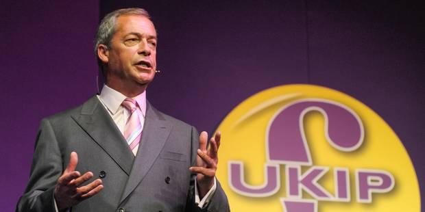 Parlement européen: Farage forme son groupe grâce à une dissidente du FN - La Libre