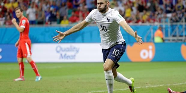 Mondial: la France écrase la Suisse (2-5) - La Libre