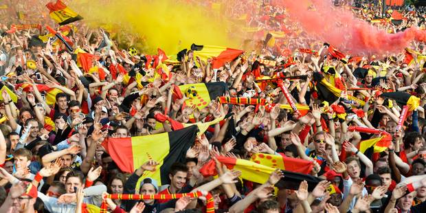 Affluence record au stade Roi Baudouin, aucun incident majeur - La Libre