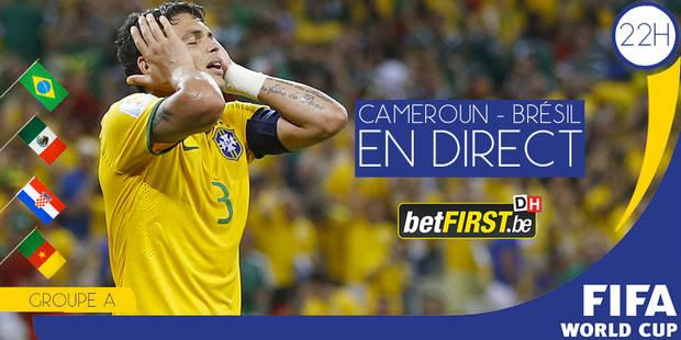 Face au Cameroun, le Brésil doit se qualifier et veut se rassurer - La Libre