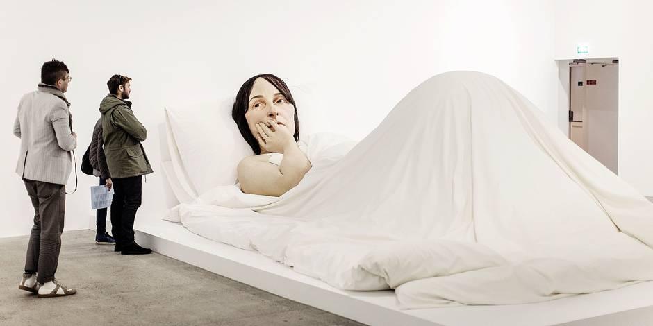 Au lit, avec Ron Mueck - La Libre