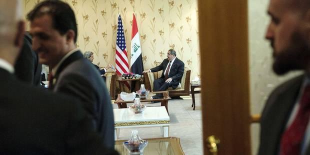 L'Américain John Kerry à la rescousse de l'Irak - La Libre