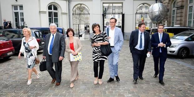 Gouvernement bruxellois: accord sur l'institutionnel - La Libre