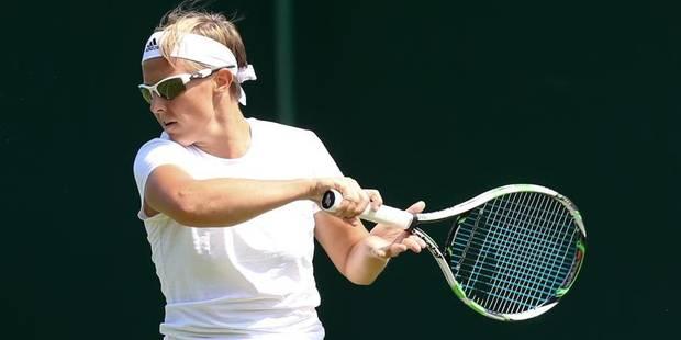 Wimbledon: Flipkens aisément qualifiée pour le 3e tour - La Libre
