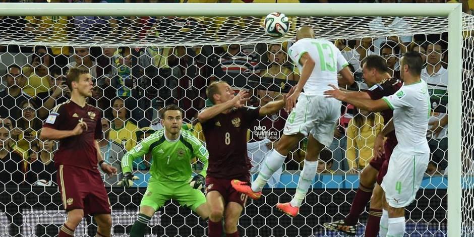 L'Algérie qualifiée pour les huitièmes (1-1)