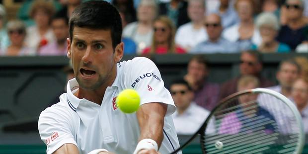 Wimbledon: Djokovic en huitièmes de finale - La Libre