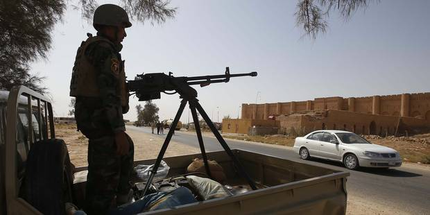 Des milliers de soldats irakiens avancent vers Tikrit - La Libre