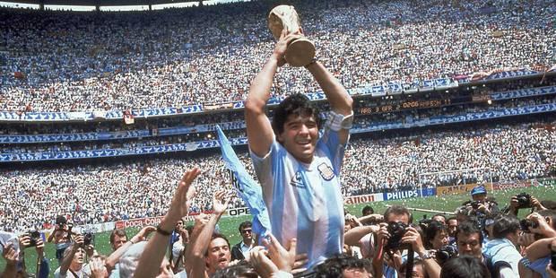 """Maradona: """"Si on ne se réveille pas, on va avoir des problèmes contre la Belgique"""" - La Libre"""