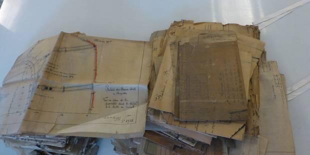 Des plans de Victor Horta mis au jour - La Libre