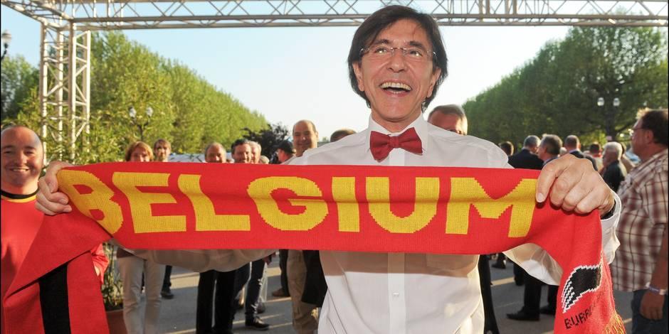 Di Rupo mise sur une victoire 1-2 de la Belgique