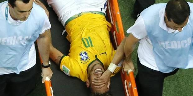 Mondial terminé pour la star brésilienne Neymar - La Libre