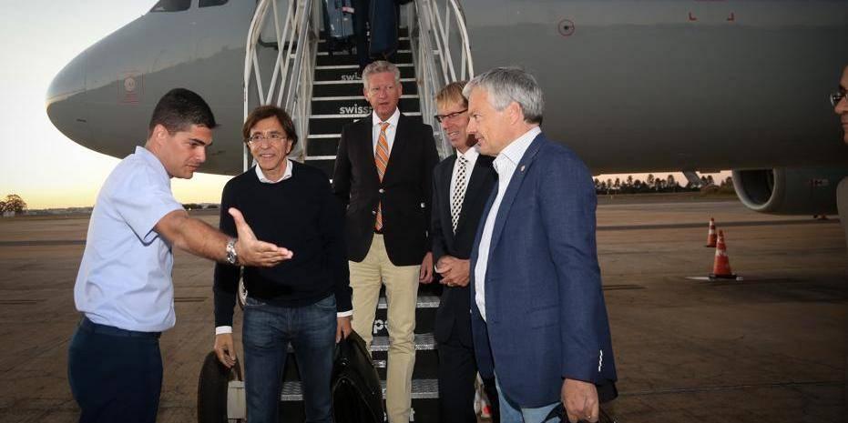 Les pronostics de la délégation officielle belge