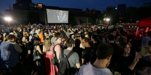 Le cinéma en plein air revient à Bruxelles - La Libre