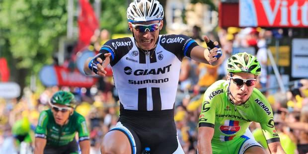 Tour de France: Kittel remporte le sprint final - La Libre