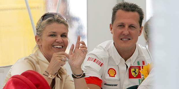 """La santé de Schumacher """"s'améliore lentement"""" - La Libre"""