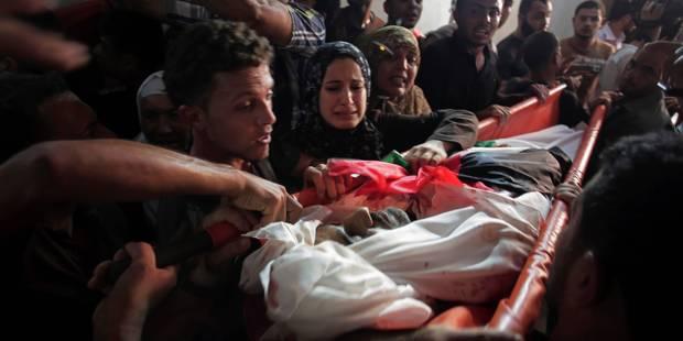 """Israël intensifie ses attaques contre le Hamas, Abbas parle de """"génocide"""" - La Libre"""