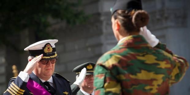 Le prince Laurent à Londres pour rendre hommage aux victimes des deux Guerres mondiales - La Libre
