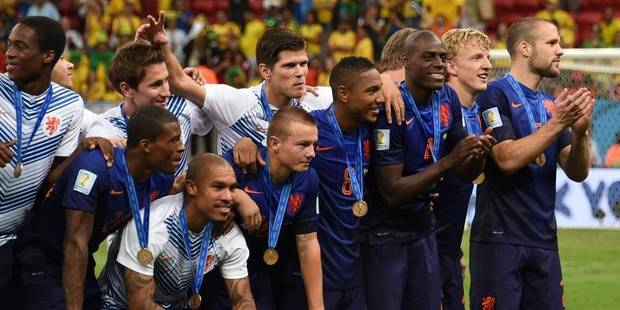 Les Pays-Bas 3e du Mondial, le Brésil en chocolat... et humilié - La Libre