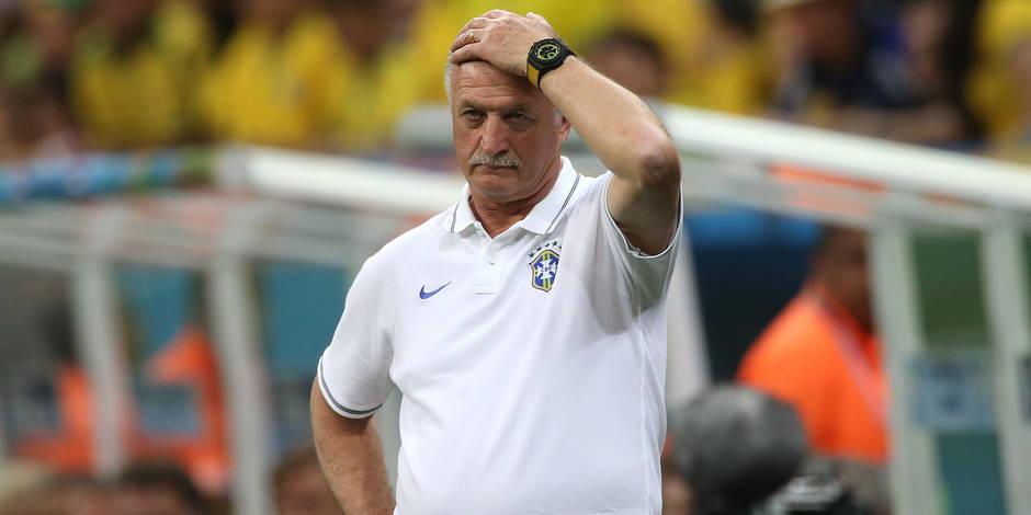 Scolari n'est plus l'entraîneur du Brésil