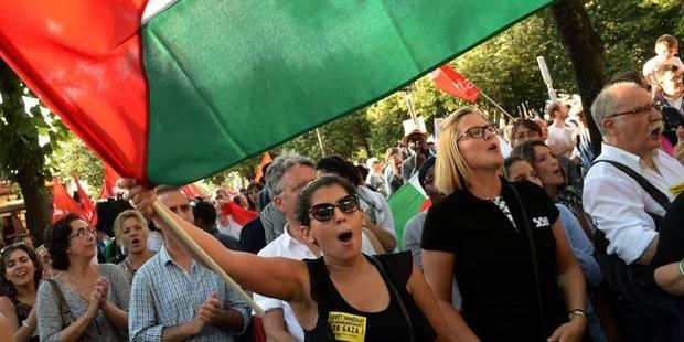 Manifestation à Bruxelles contre les bombardements de Gaza - La Libre