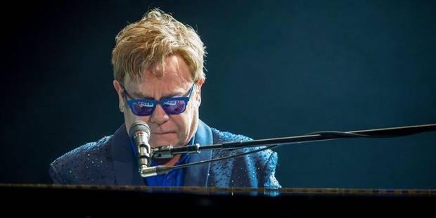 Elton John prend sa retraite - La Libre