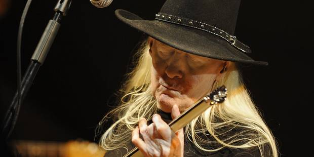 Johnny Winter, légende du blues et de Woodstock, est décédé - La Libre