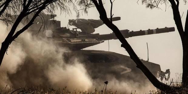 Israël lance une opération terrestre dans la bande de Gaza - La Libre