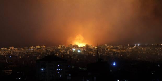 337 Palestiniens tués à Gaza depuis le début des attaques - La Libre