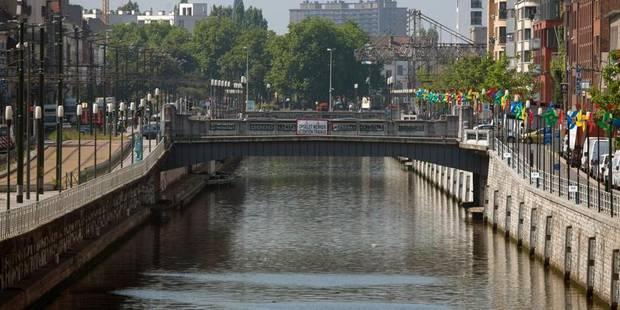 Un homme perd la vie après une chute dans le canal à Bruxelles - La Libre