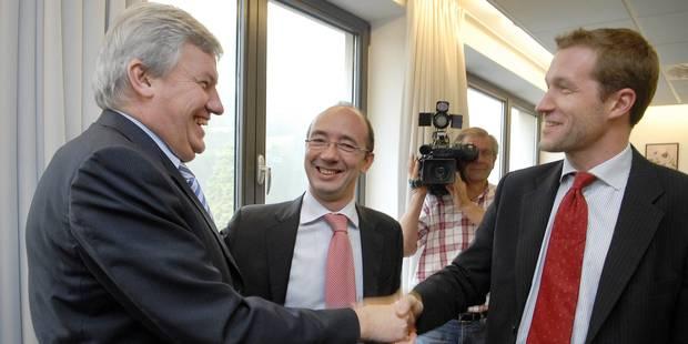 Gouvernements wallon et FWB: Magnette et Demotte Ministres-Présidents - La Libre