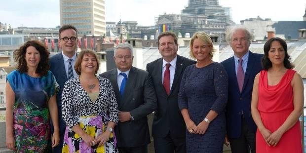 Le nouveau gouvernement bruxellois a reçu la confiance du parlement - La Libre