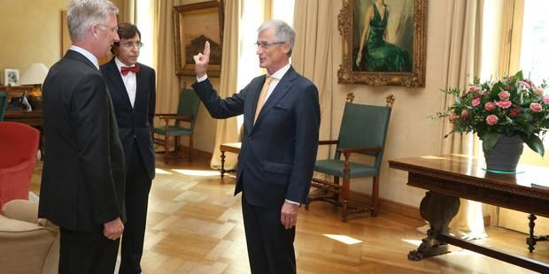 Quand le N-VA Geert Bourgeois jure fidélité au Roi des Belges... - La Libre