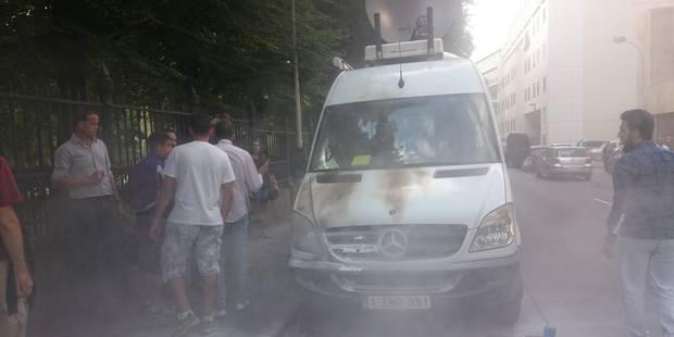 Manifestation pro-palestinienne à Bruxelles: des journalistes de RTL pris à partie - La Libre