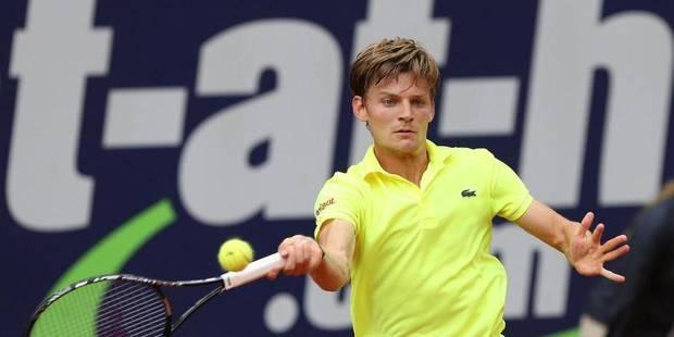 Goffin pour la 1ère fois en demie d'un tournoi ATP, contre l'Argentin Gonzalez - La Libre