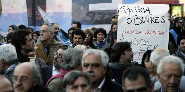 En défaut de paiement, l'Argentine crie à l'injustice - La Libre