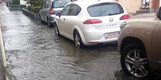 Des inondations dans quelques communes du Brabant flamand - La Libre