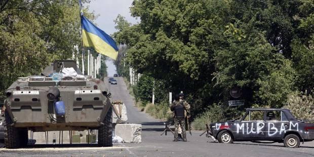 Ukraine: une frappe aérienne touche Donetsk pour la première fois - La Libre