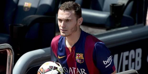 Thomas Vermaelen a signé au FC Barcelone où il portera le numéro 23 - La Libre
