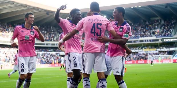 Anderlecht sauvé par Mitrovic (1-0) - La Libre