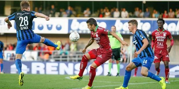 Zulte Waregem arrache un partage contre Bruges (1-1) - La Libre