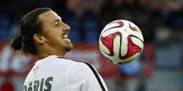 Le beau geste de Zlatan Ibrahimovic - La Libre