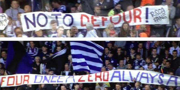 Defour mal accueilli par des supporters d'Anderlecht - La Libre