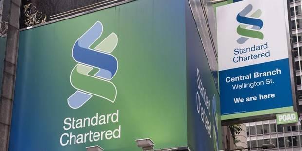 Standard Chartered condamnée à 300 millions d'€ d'amende pour blanchiment - La Libre