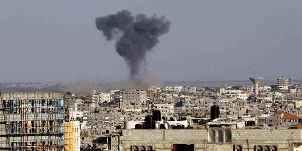 Rupture du cessez-le-feu: roquettes sur Israël et raids sur Gaza - La Libre