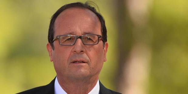 François Hollande va proposer une conférence sur la sécurité en Irak - La Libre